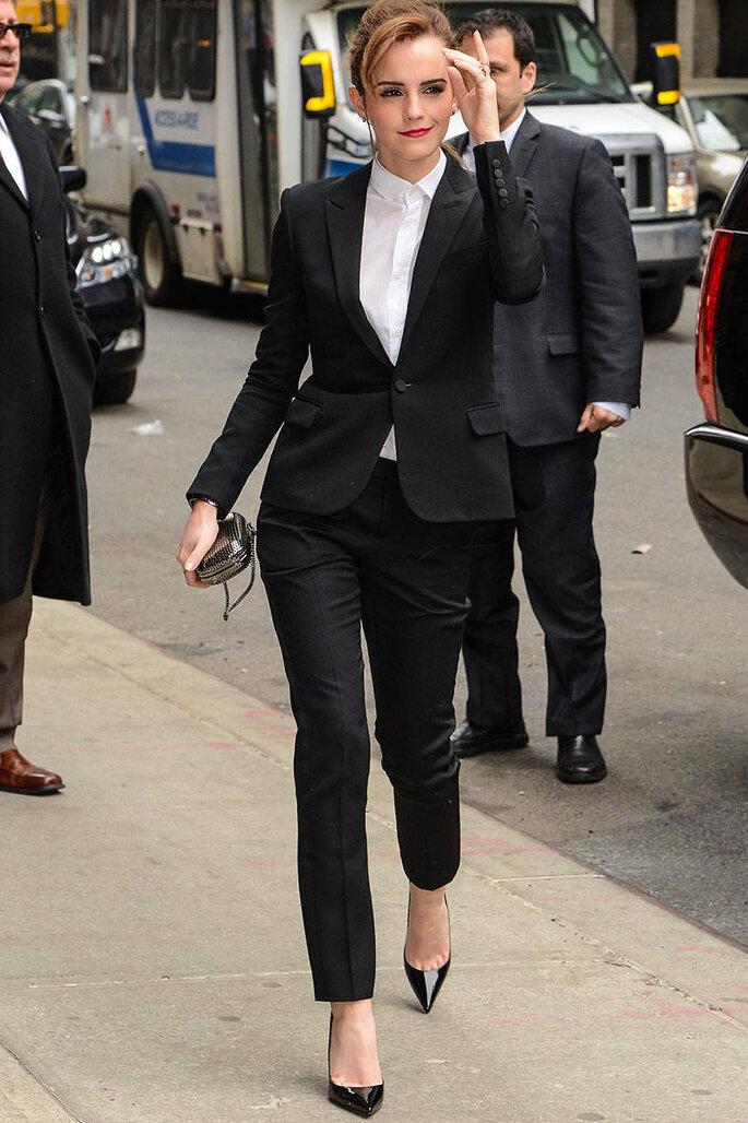 Emma Watson podría ser la nueva chica del Príncipe Harry - Yves Saint Laurent