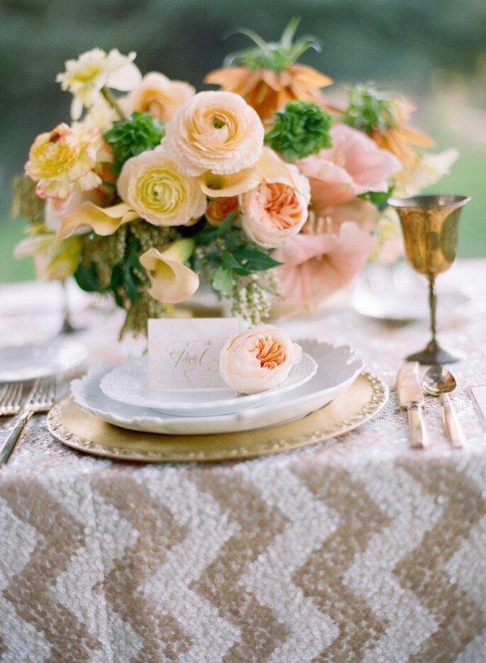 Los colores perfectos para decorar una boda en 2015 - Foto Chelsea Mitchell Photo