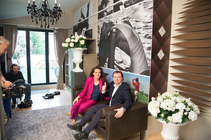 Amalia e il fotografo Michele DellUtri