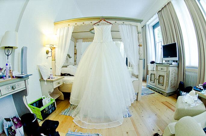 Der Kleidertraum aus der Kollektion von Jesus Peiro. - Foto: jonpride.com