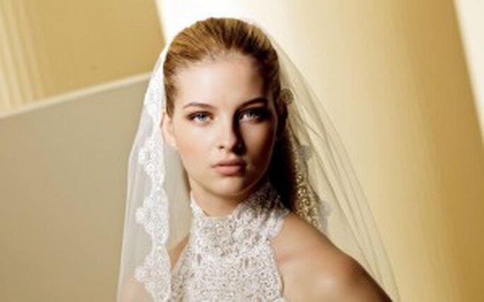 Colección de vestidos de novia con encaje 2011