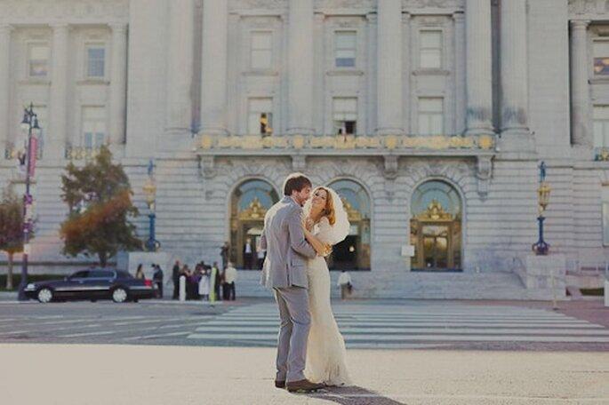El 'elopement' de Dionne y Damien se celebró en San Francisco. Foto: Tinywater Photography
