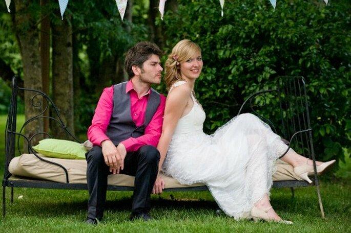 Robe de mariée sur mesure : on a toutes les raisons d'en vouloir une ! - Photo : Aurele Création