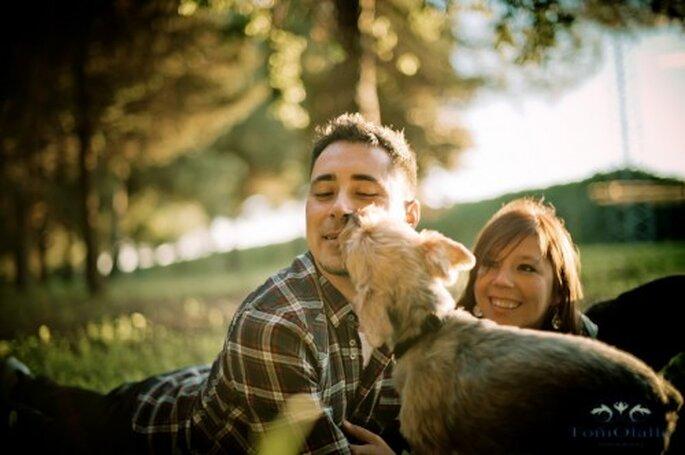 Incluye a tu perro en la sesión de fotos pre-boda - Foto Toni Olalla