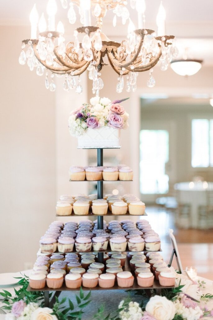 Pasteles de boda que romperán esquemas en 2015 - Foto Michelle Lange