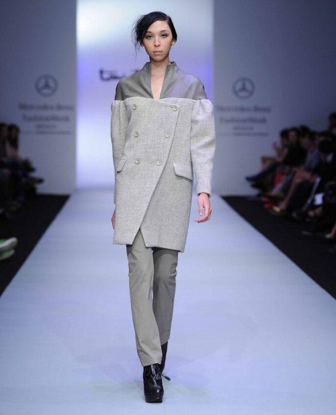 Conjunto presentado por Toni Francesc. Mercedes Benz Fahion Week México Otoño/Invierno 2012-2013
