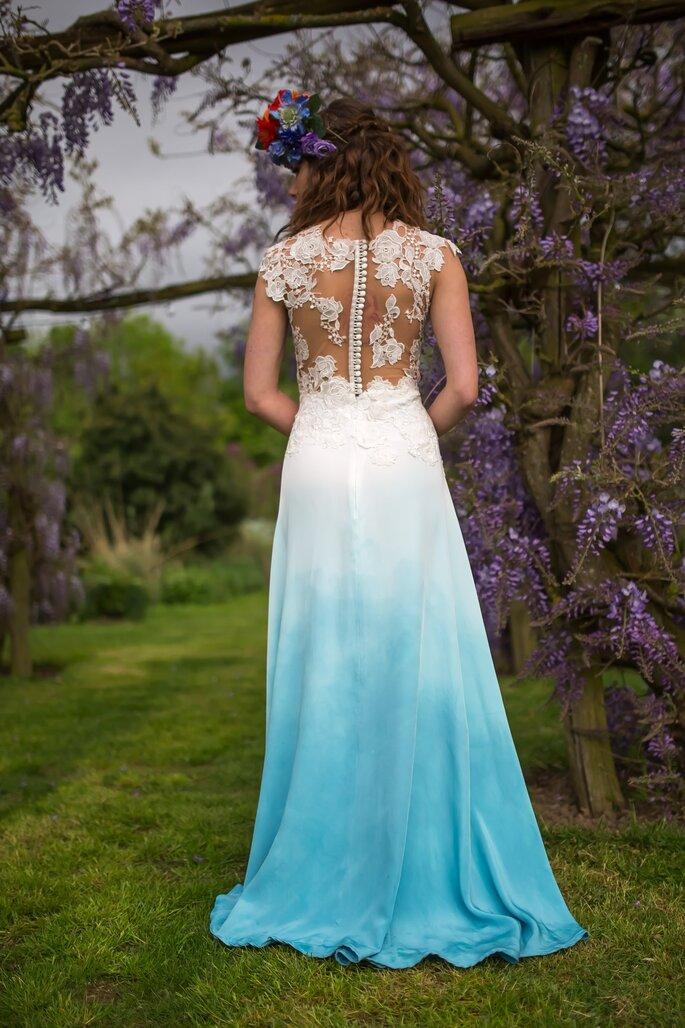 Vestidos de noiva tie dye