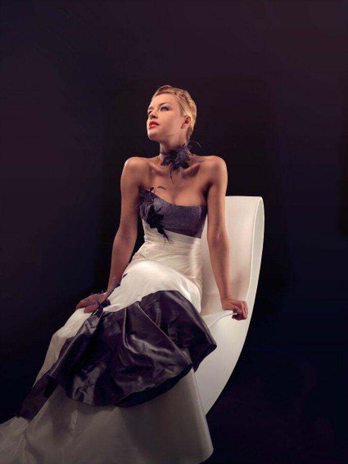 Robe de mariée Lambert Créations 2013, modèle Fréhel - Photo : Lambert Créations