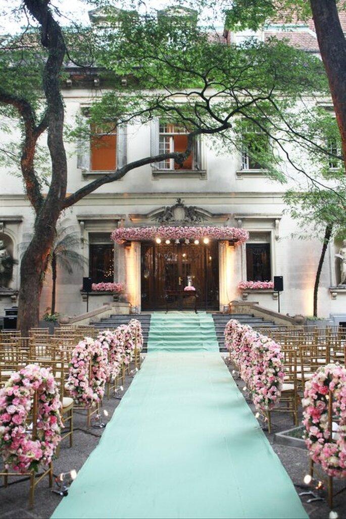 Ideas para darle un toque de rosa a tu boda. Foto de Boutique de 3