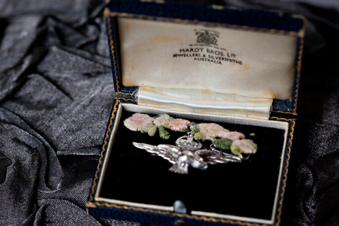 Las joyas de la abuela perfecta para tu boda  - Foto Kirralee Ashworth