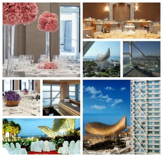 La ciudad de Barcelona puede convertirse en tu invitada de honor. Foto: Hotel Arts