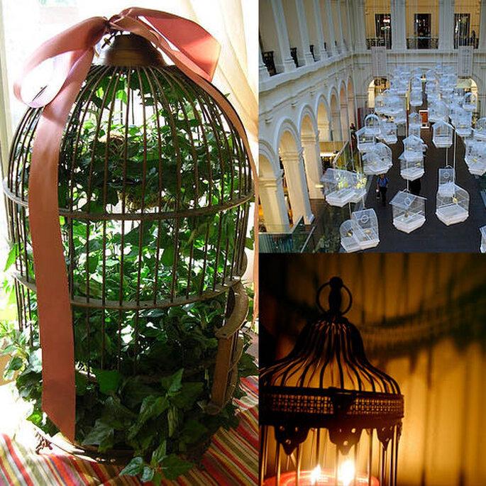 Jaulas Decoracion Mercadolibre ~ Las 4 tendencias m?s originales para los centros de mesa de tu boda
