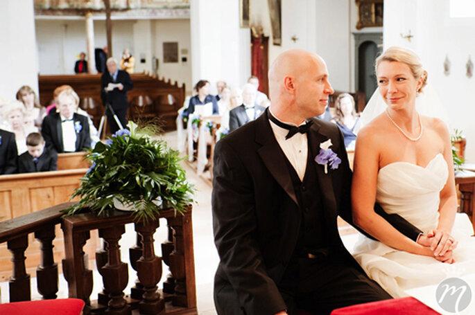 Das Jawort: Stefanie und Brian - Foto: Martina Rinke.