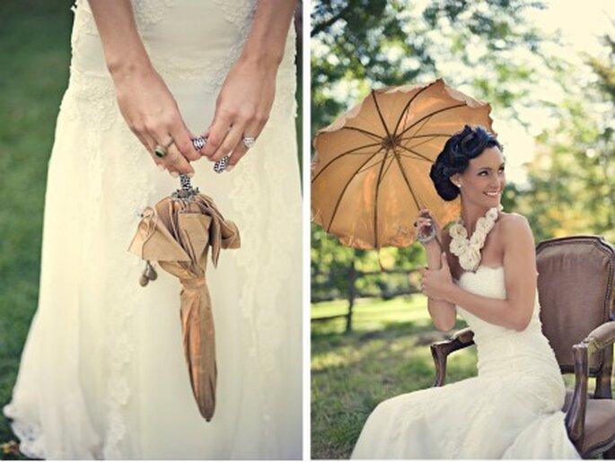 Paraguas para tu boda
