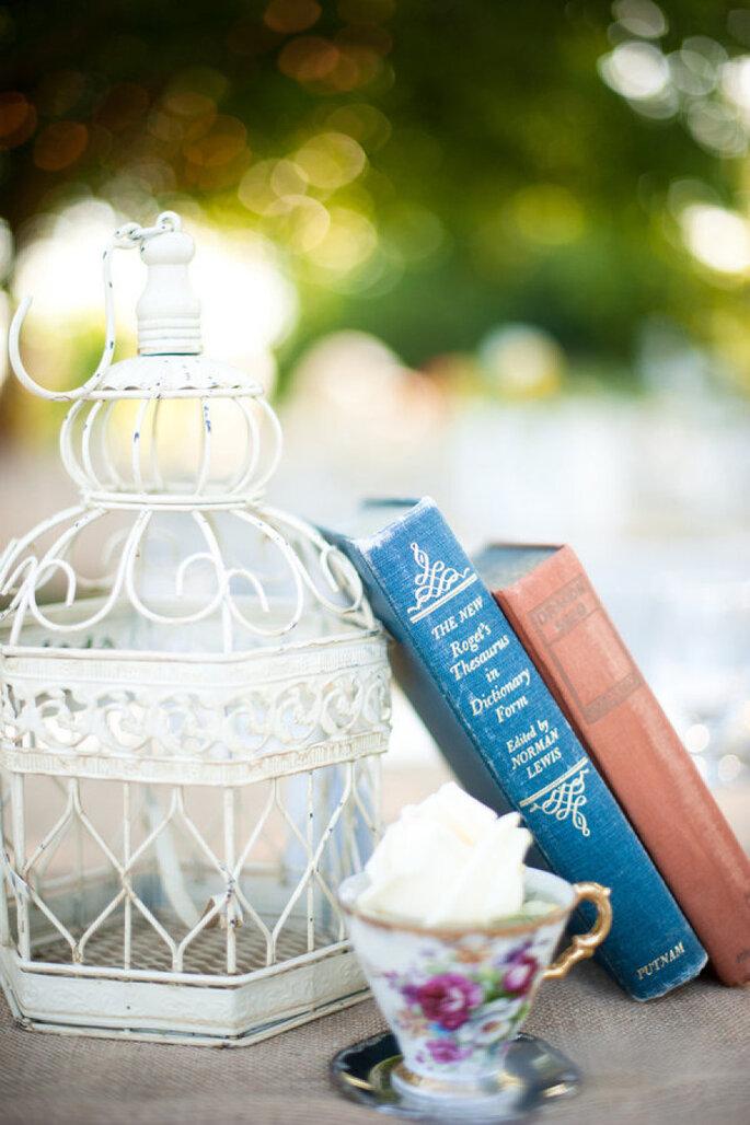 Libros para decorar tu boda - Erich McVey Photography