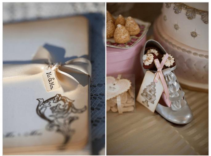 Décoration de mariage inspirée par Marie Antoinette - Photo Edison Photography