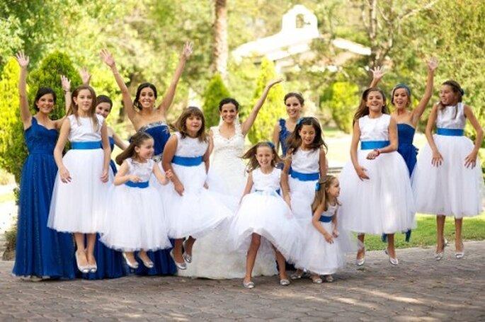Ideas de colores para una boda de día - Foto Manuel Valderrama