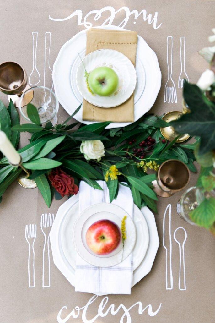 10 detalles para que tu recepción de boda sea la más original - Kathryn McCrary vía Style Me Pretty