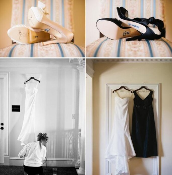 Vestidos de novia. Foto de Alexandra Roberts.