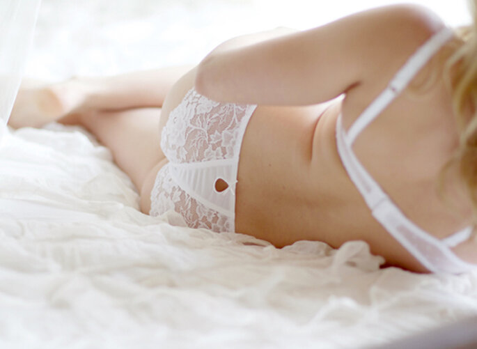 ¿Clásica, sexy o romántica? ¿Cuál es tu estilo de lencería favorito? Foto de Jen Lynne Photography
