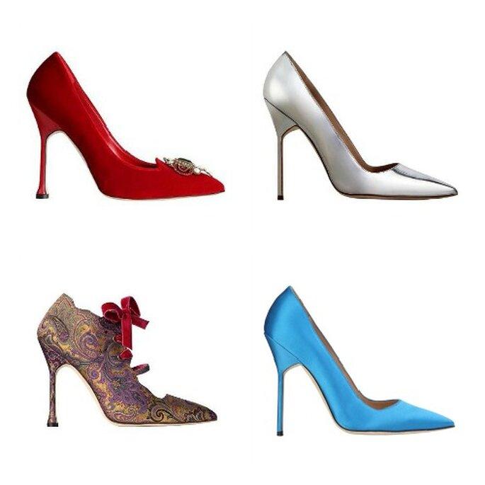 Encore plus de chaussures de la collection Manolo Blahnik automne-hiver 2012-2013. Photo: Manolo Blahnik