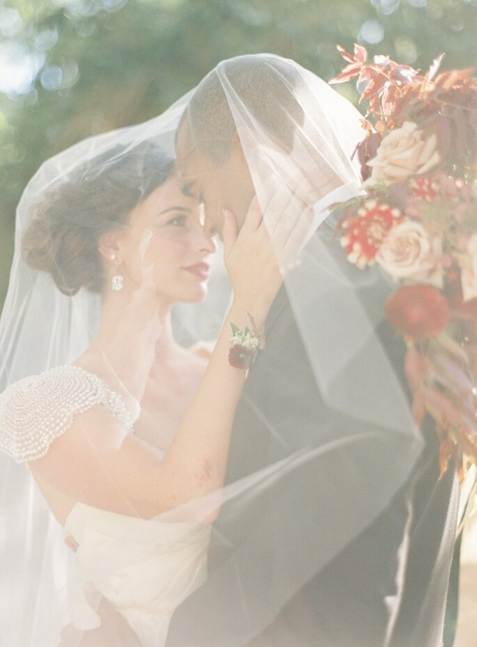 El velo de la novia. Foto- Jessica Kay Photography