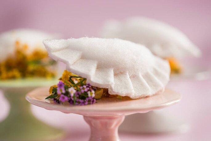 Zest - pastel de algodao doce