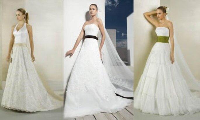 Lazos de colores para novias
