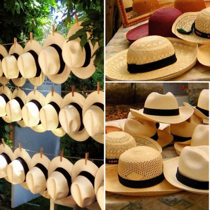 3 ideas refrescantes para los invitados a una boda en verano - Sombreros Montecristi