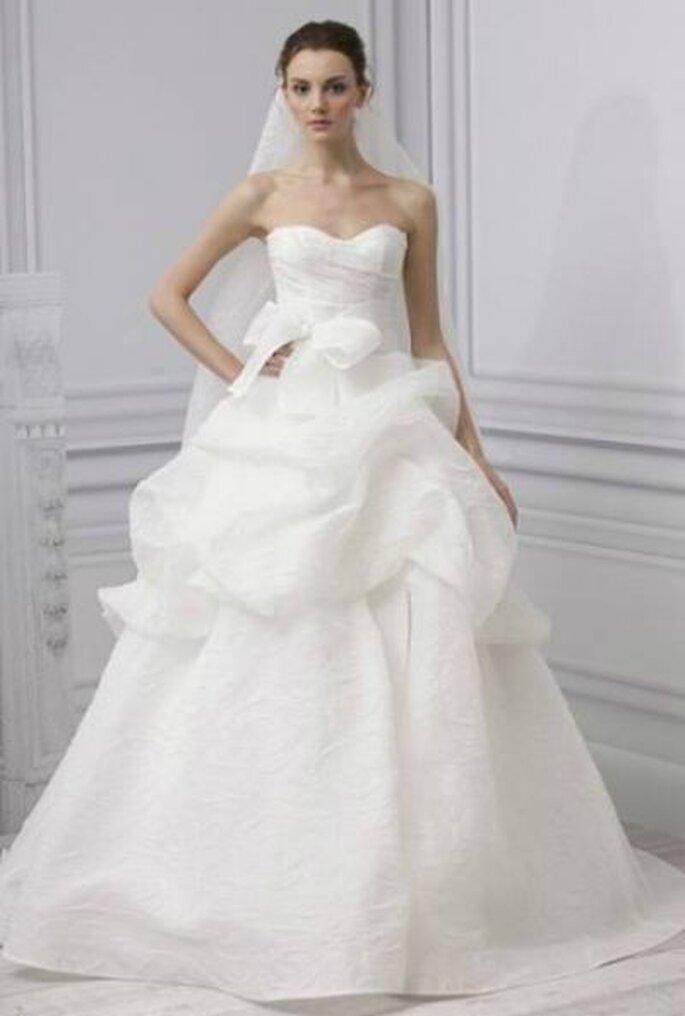 mehrlagiges Brautkleid aus der Brautkleid Kollektion 2013 - Foto: Monique Lhullier