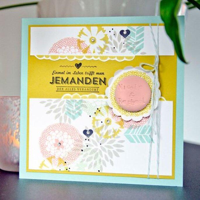 Einladungskarten zu Ihrer Hochzeitsfeier. Foto: Wertschatz