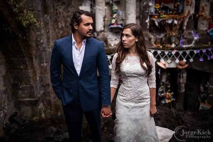 Una sesión Trash the Dress de película - Jorge Kick