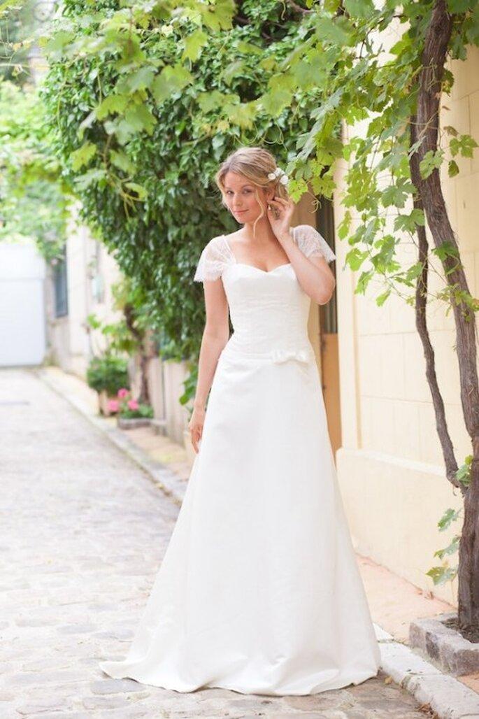 Robe de mariée Les Corsets d'Aëlle 2013, modèle Désirée - Photo : Florence Akouka - FleurdeSucre photographie