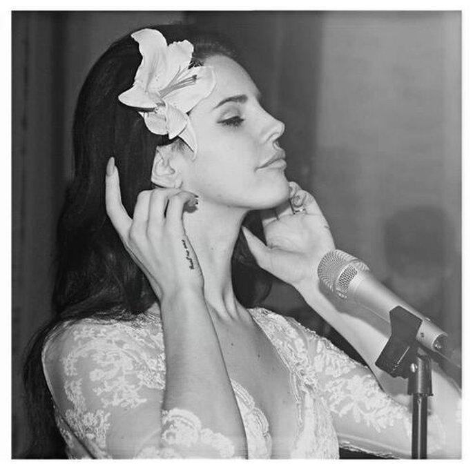 Makeup de novia inspirado en el look de Lana del Rey - Foto Catherine Deane Facebook