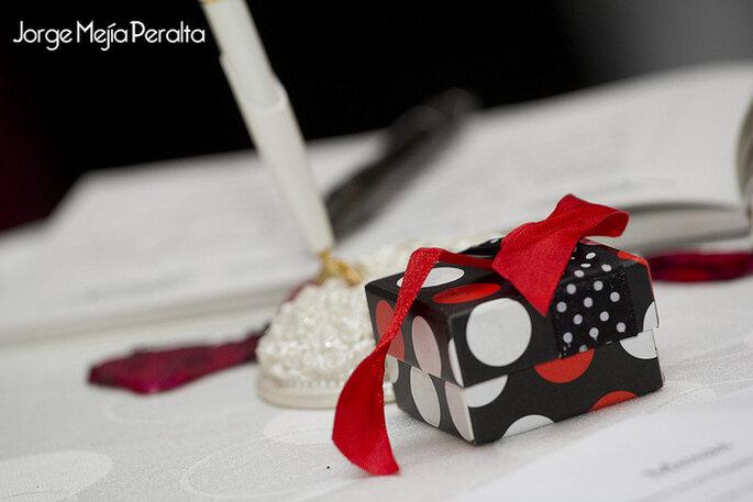Cajitas de regalo. Foto: Jorge Mejia Peralta