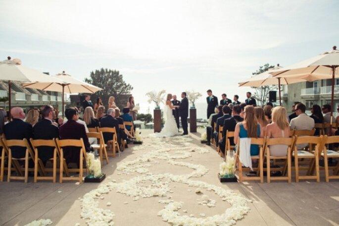 Los altares de boda más lindos para la ceremonia religiosa - Denise Nicole Photography
