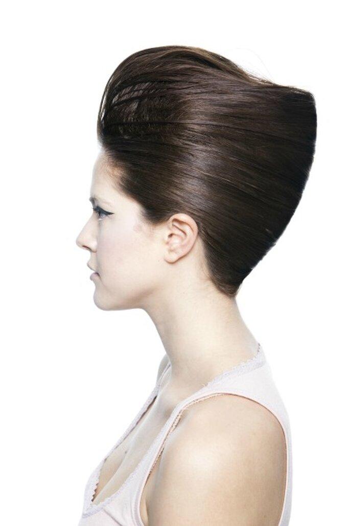 Mezcla de estilos en los peinados de novia 2012 - Art Lab