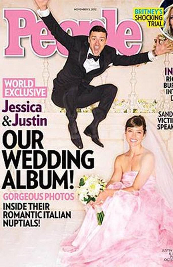 Todos los detalles de la boda de Jessica Biel y Justin Timberlake - Foto Terra.com.mx