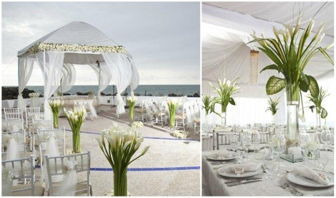 Una boda elegante por Carolina Muzo. Fotos: Patricio Calle