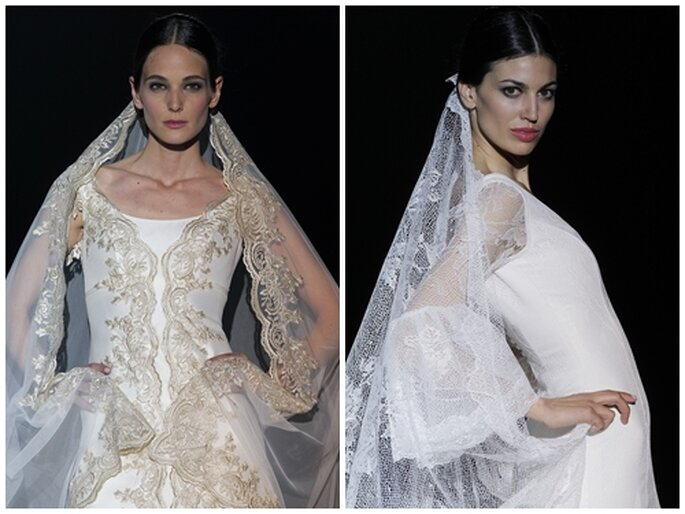 Fotos:  Franc Sarabia. Barcelona Bridal Week