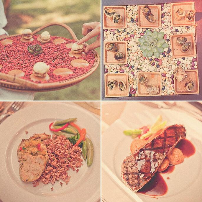 En la comida y los bocadillos también se refleja el otoño. Foto de Sweet Little Photographs
