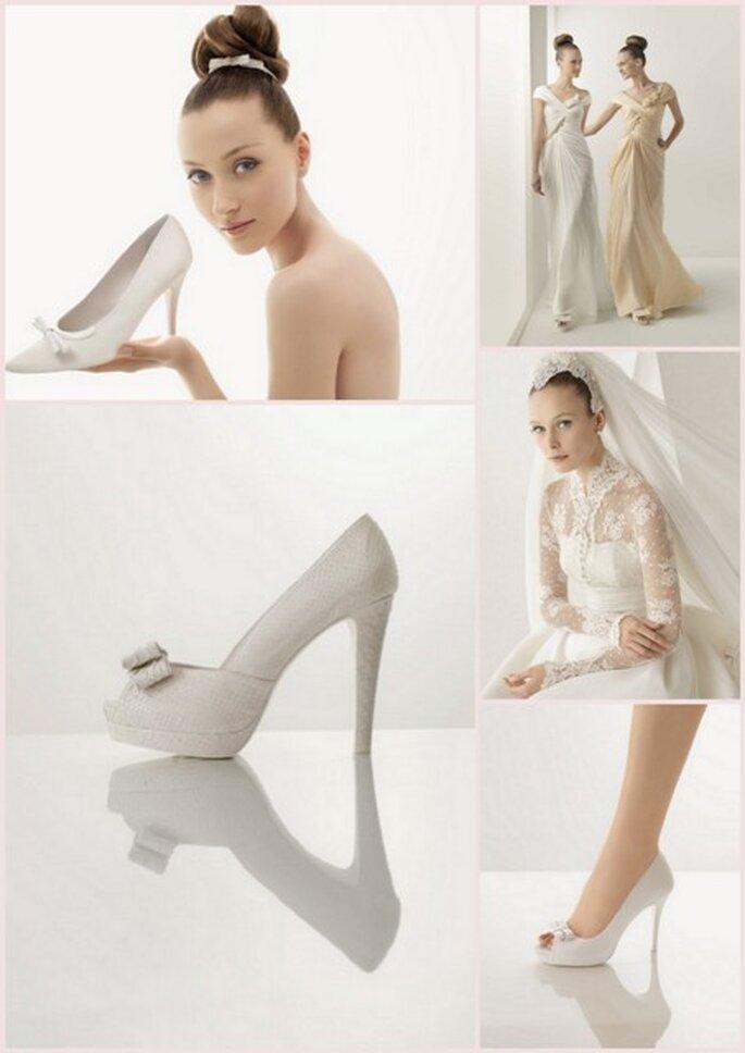 Sapatos com alturas de arrasar - colecção Rosa Clará 2012