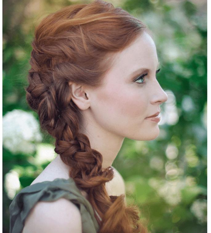 Inspiración para lograr el peinado perfecto - Foto Kate Ann Photography