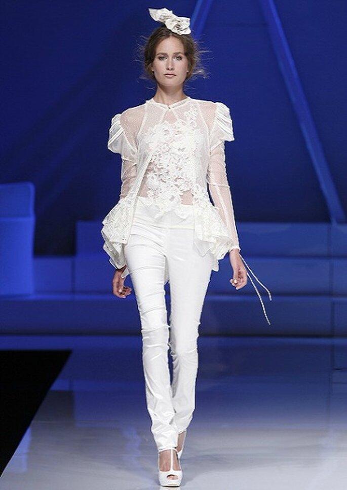 Pantalon de mariée Yolan Cris 2013