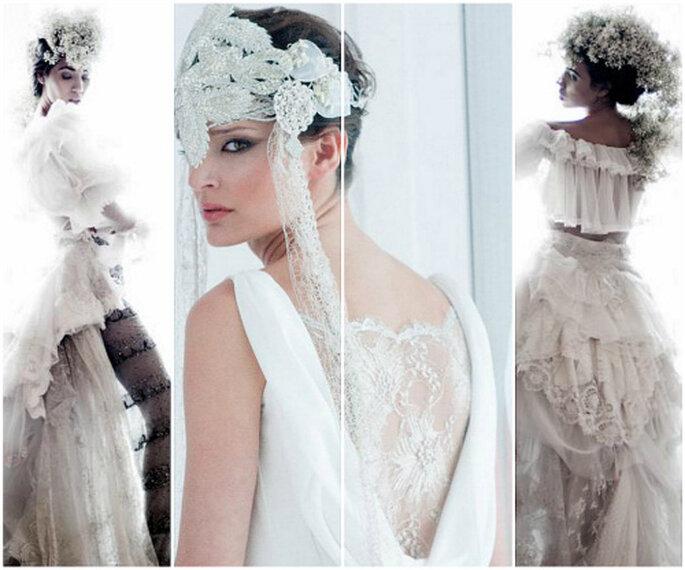 Un lujo a medida: diseña tu vestido de novia en un taller de costura. Fotos: Isabel Zapardiez y La tua pelle costura