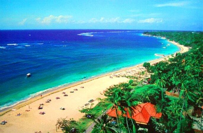 Playa Nusa Dua en Bali, destino perfecto para vuestra luna de miel