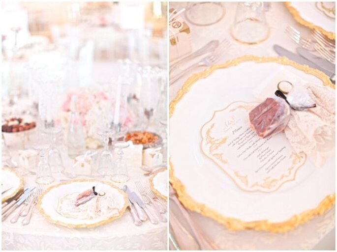 Real Decor: Una decoración majestuosa inspirada en una princesa - Foto Jacob & Pauline Photography