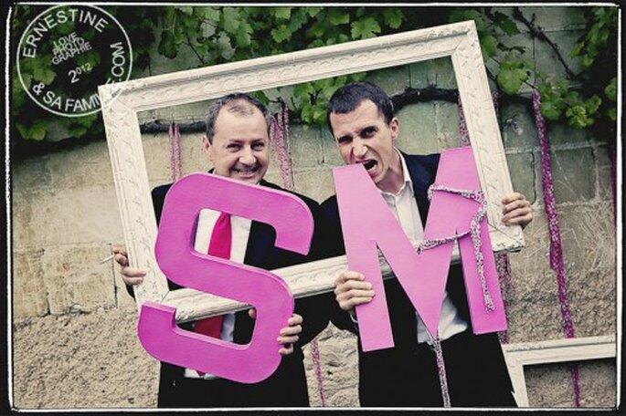 Le photobooth réjouira les invités du mariage - Crédit : Ernestine et sa famille