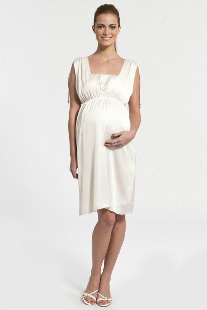 Robe de mariée pour femme enceinte - Source : Pomkin
