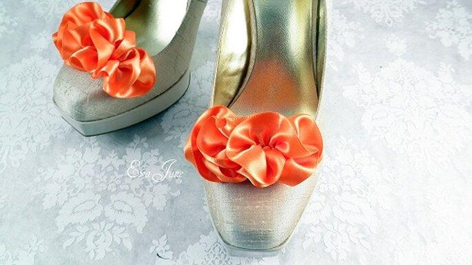 Applicazioni per le scarpe. Foto: Evajune. www.etsy.com/shop/evajune